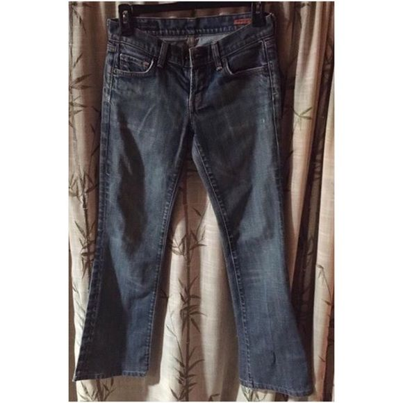 Citizen of Humanity Jeans Worn but lots of life left. ❤️ 25X27 Citizens of Humanity Jeans Straight Leg