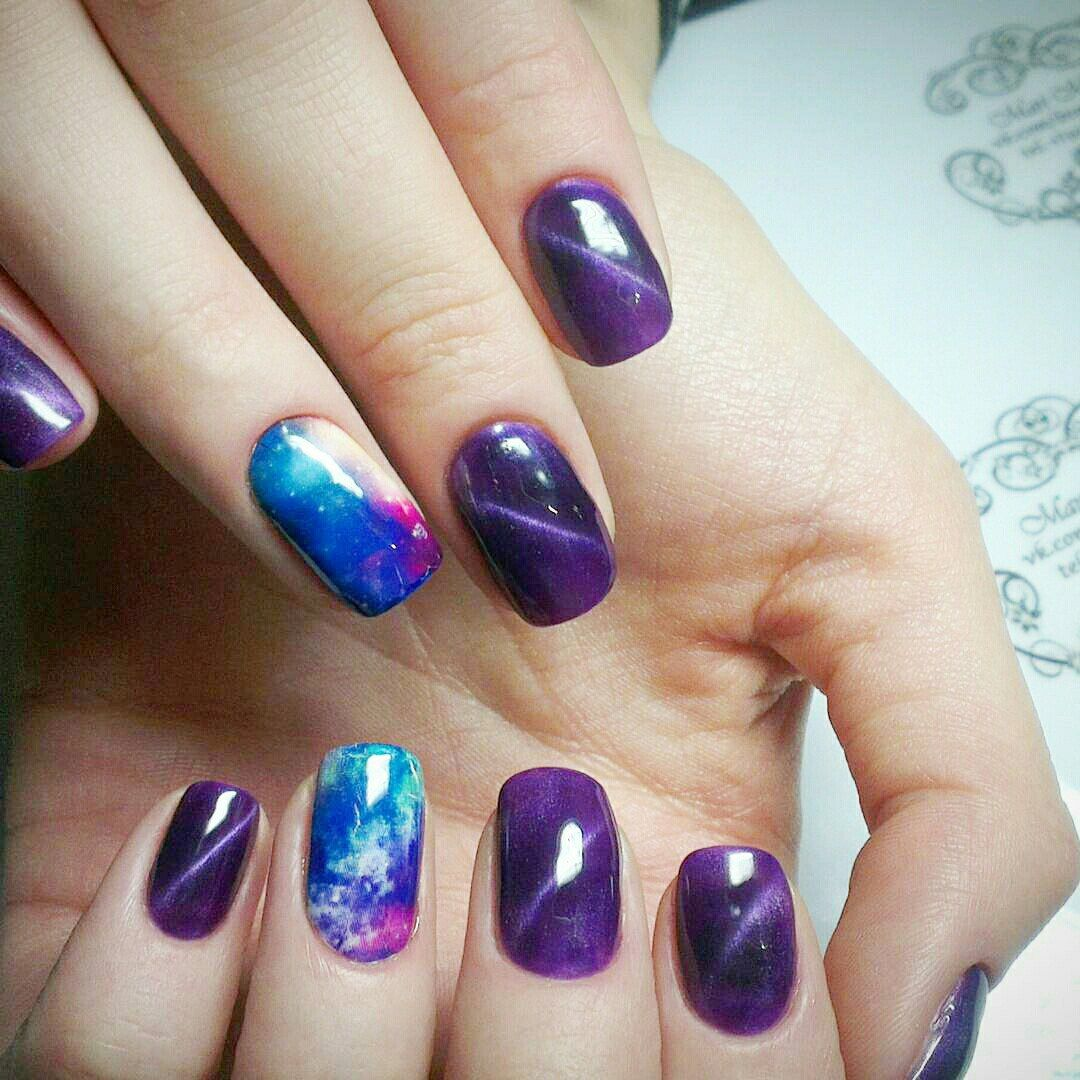 How to Do Galaxy Nails Art: Best Design With Tutorial | Galaxy nail ...