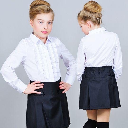 Как выбрать школьную блузку