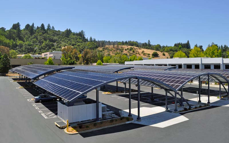 Solar Panel Carport Germans Encouraged To Roof Carports With