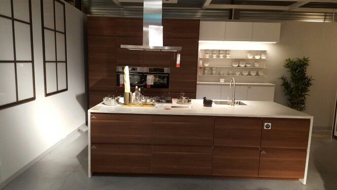 Voxtorp Walnut Google Search Simple Kitchen Remodel