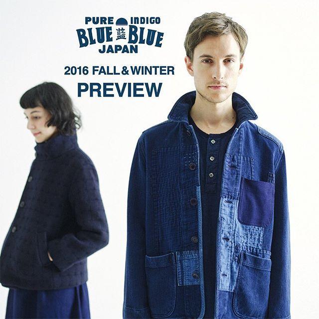WEBSTA @ seilin_official - BLUE BLUE JAPANの旗艦店である「オクラ」にて、ニューコレクションの先行受注会を開催いたします。期間:9/1(木)〜9/11(日)#bluebluejapan #ブルーブルージャパン #indigo #本藍 #madeinjapan #刺し子 #fallandwinter #seilin #聖林公司