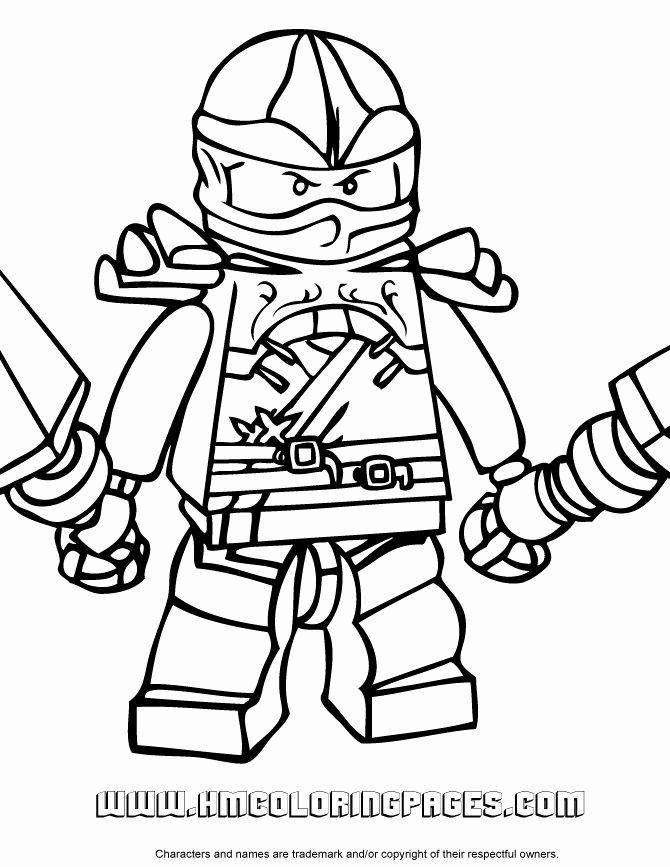28 Kai Ninjago Coloring Page in 2020   Ninjago coloring ...