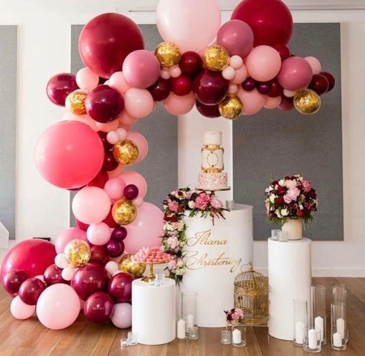 Pin De Nanny Perdomo Em Baby Festa De Aniversario Decoracao Festa Com Decoracao De Baloes Decoracao Aniversario
