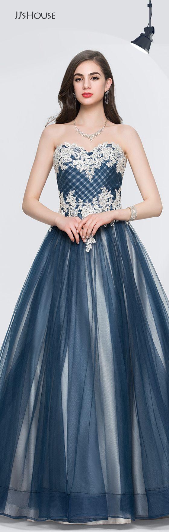 Jjshouse promdresses colors brilliant blues pinterest prom