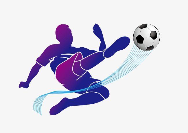 Vetor De Jogador De Futebol Download, Futebol, Os Atletas, Jogar ...
