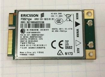 SSEA NEW Universal Ericsson F5521GW gobi3000 HSPA EDGE 21Mbps 3G Mini PCIE Wireless Card For Dell Asus