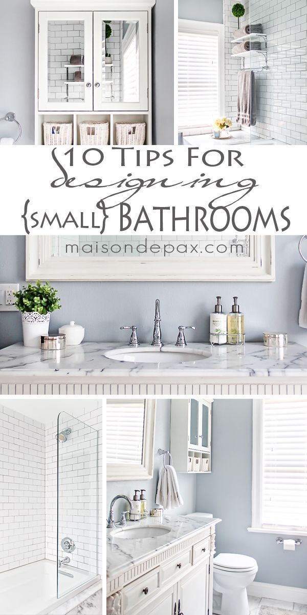 10 Tips For Designing A Small Bathroom Maison De Pax Small Bathroom Bathrooms Remodel Top Bathroom Design