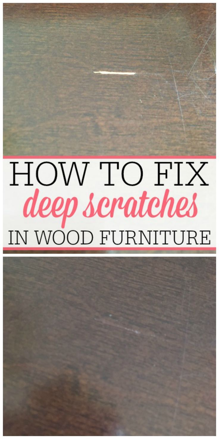 how to fix deep scratches in wood | best money saving tips