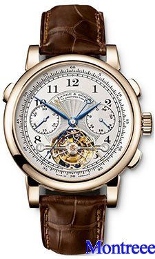A.Lange & Sohne Datograph Flyback Double Tourbillon 712.05