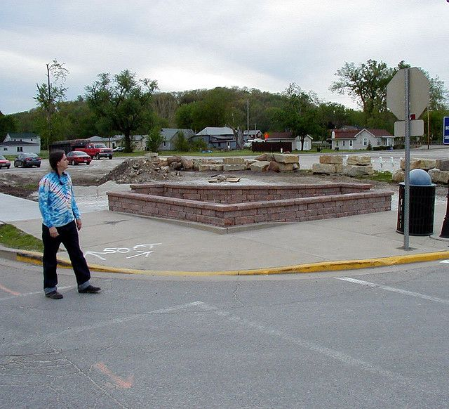 www.cashforoffer.com  (photo: Rustie views new construction for a memorial at the site of the Milestone Tap)  Utica Tornado of April 20, 2004 Story by Julia Keller First printed December 5, 6, and7 in the Chicago Tribune.