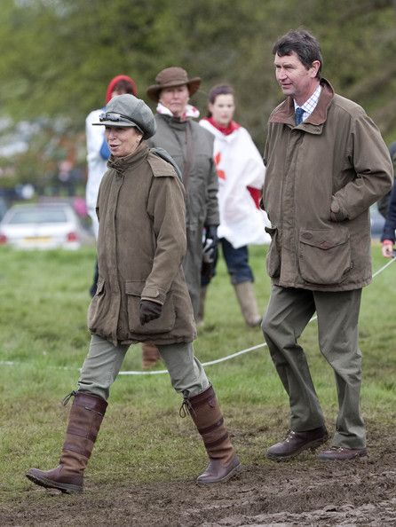 Timothy Laurence Photos - Zara Phillips rides at the Badminton Horse trials.Pictures shows: Princess Anne and husband Timothy Laurence. - Zara Phillips at the Badminton Horse Trials