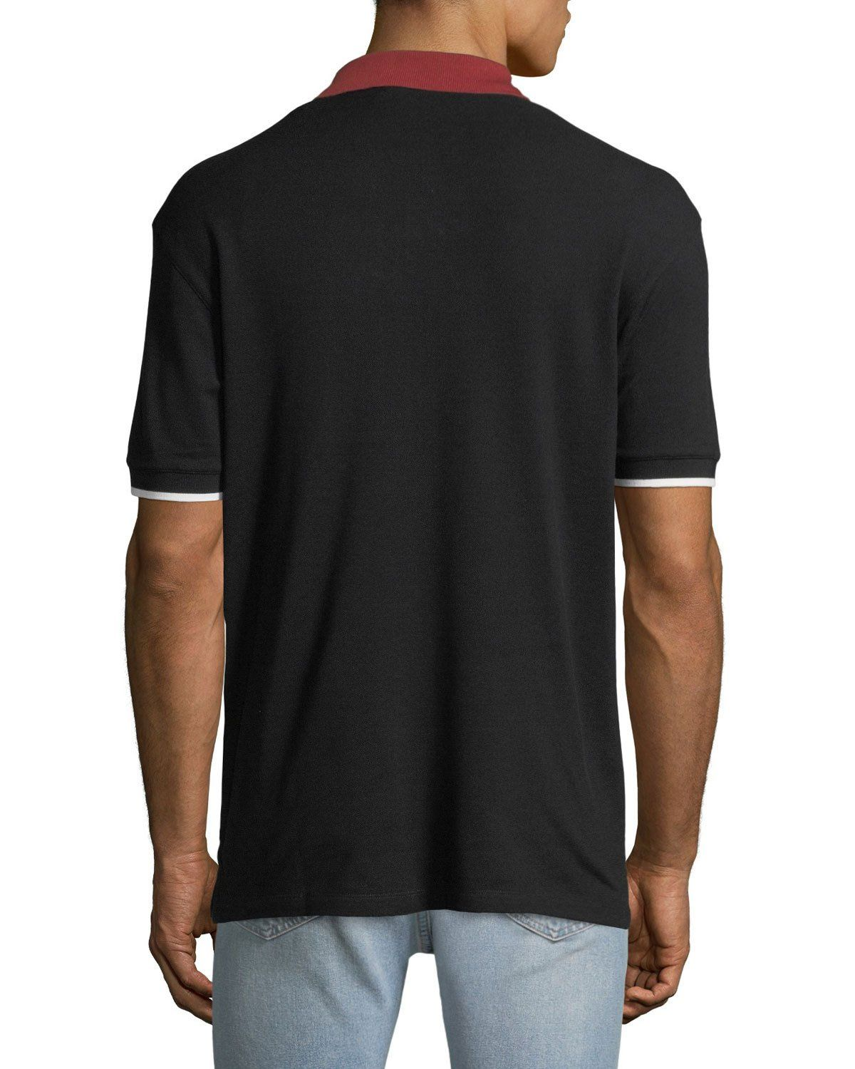 d922a2fc Bally Men's Animals Contrast-Trim Polo Shirt, Black | Products ...