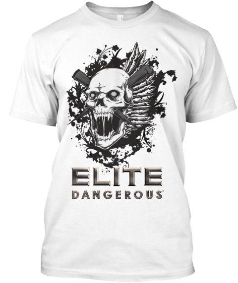 Dangerous Addition T Shirt White T-Shirt Front