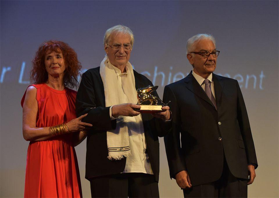 Bertrand Tavernier - Leone d'oro alla carriera / Golden Lion for Lifetime Achievement con/with Sabine Azéma, Paolo Baratta |.| Venezia 2015