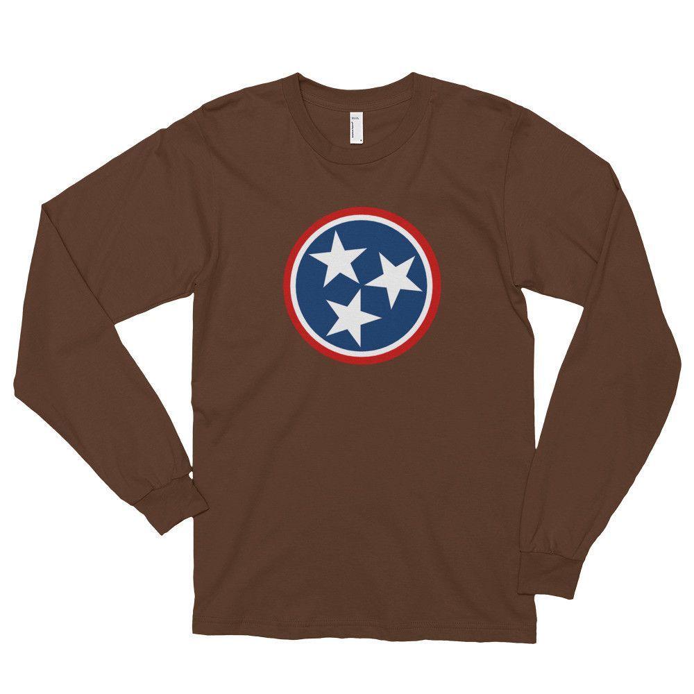 Tennessee Flag Long Sleeve T-Shirt