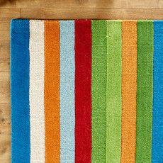 Rainbow Stripes Multi Rug