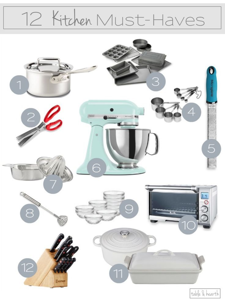 Great list!!  Twelve of the best kitchen gadgets and tools to make cooking even easier!