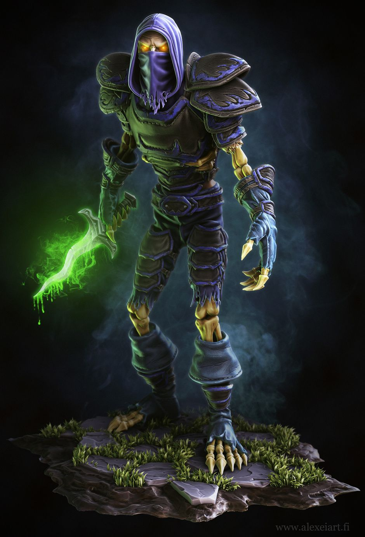 Undead Rogue Created By Alander Alexei World Of Warcraft World Of Warcraft Game Wow Of Warcraft