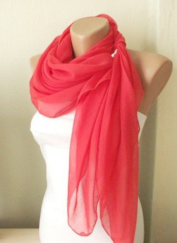 Populære red grenadine red cotton spring scarf | Thanks Pinterest! in 2019 CB-32