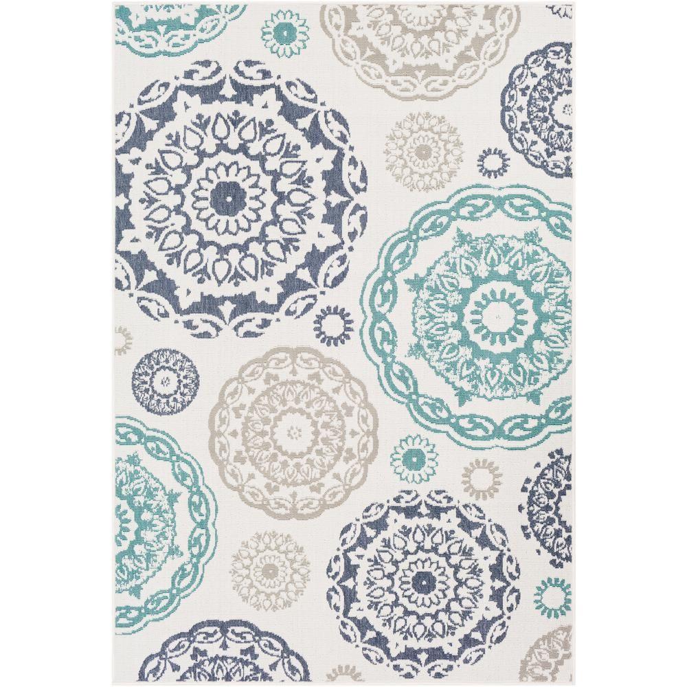 Artistic Weavers Felix Ivory 7 Ft 6 In X 10 Ft 9 In Oriental