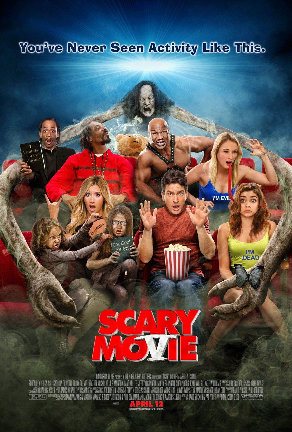 Scary Movie 5 2013 Scary Movie 5 Movies To Watch Movie Posters