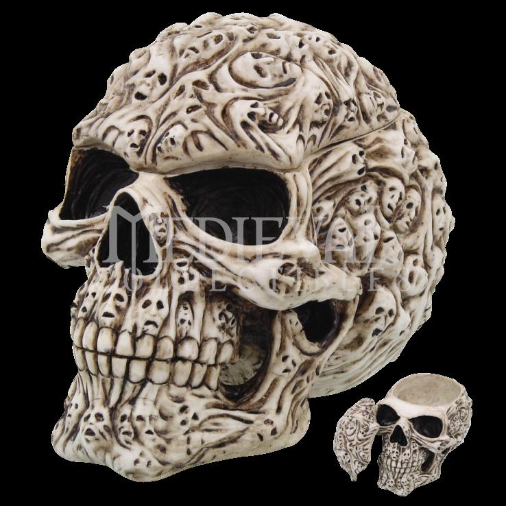 Skull head home decor