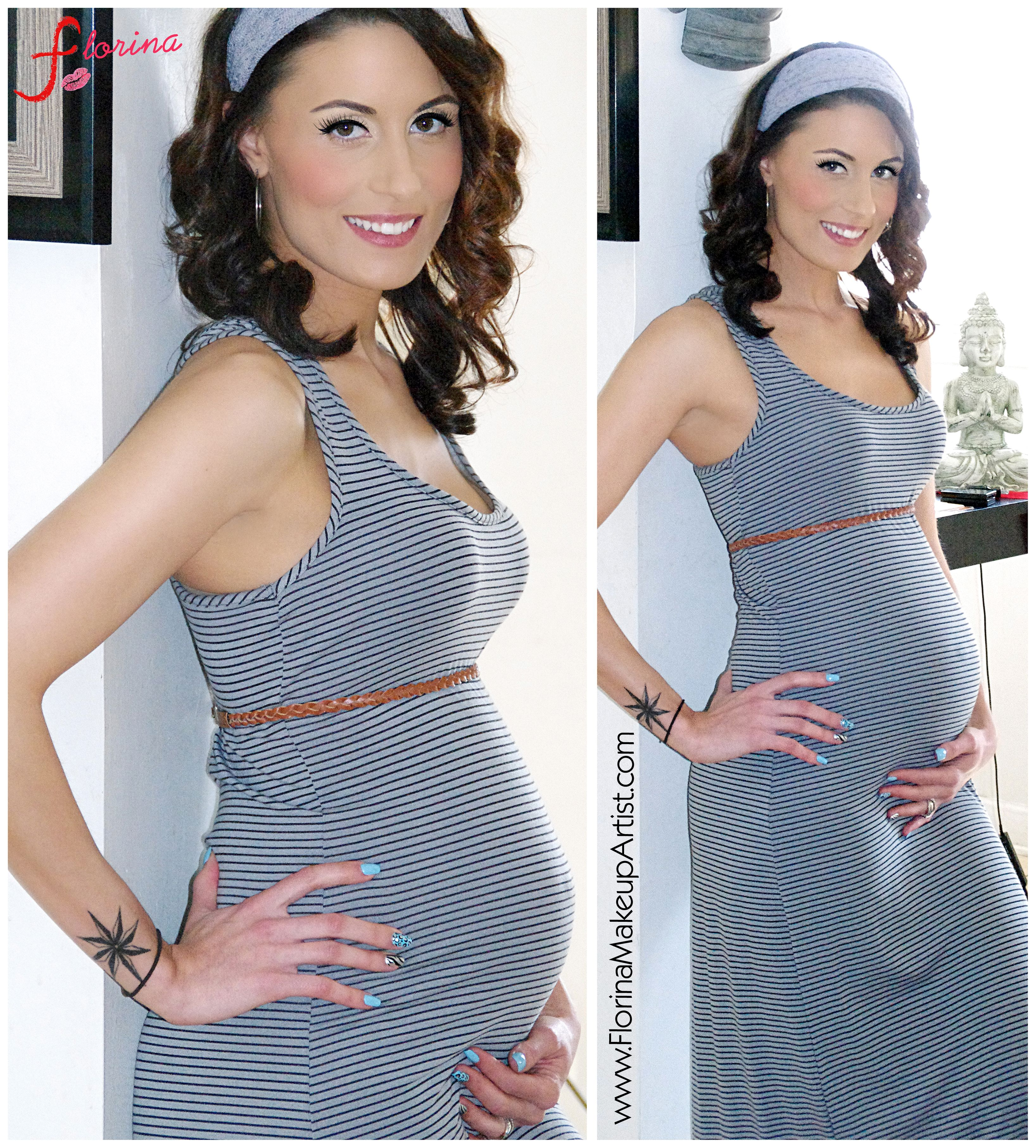 Cute Maternity fashion. Dresses show off the belly bump best ...