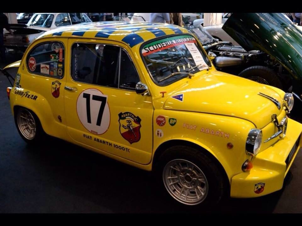 Abarth 1000 Tc Fiat Fiat 600 Toy Car