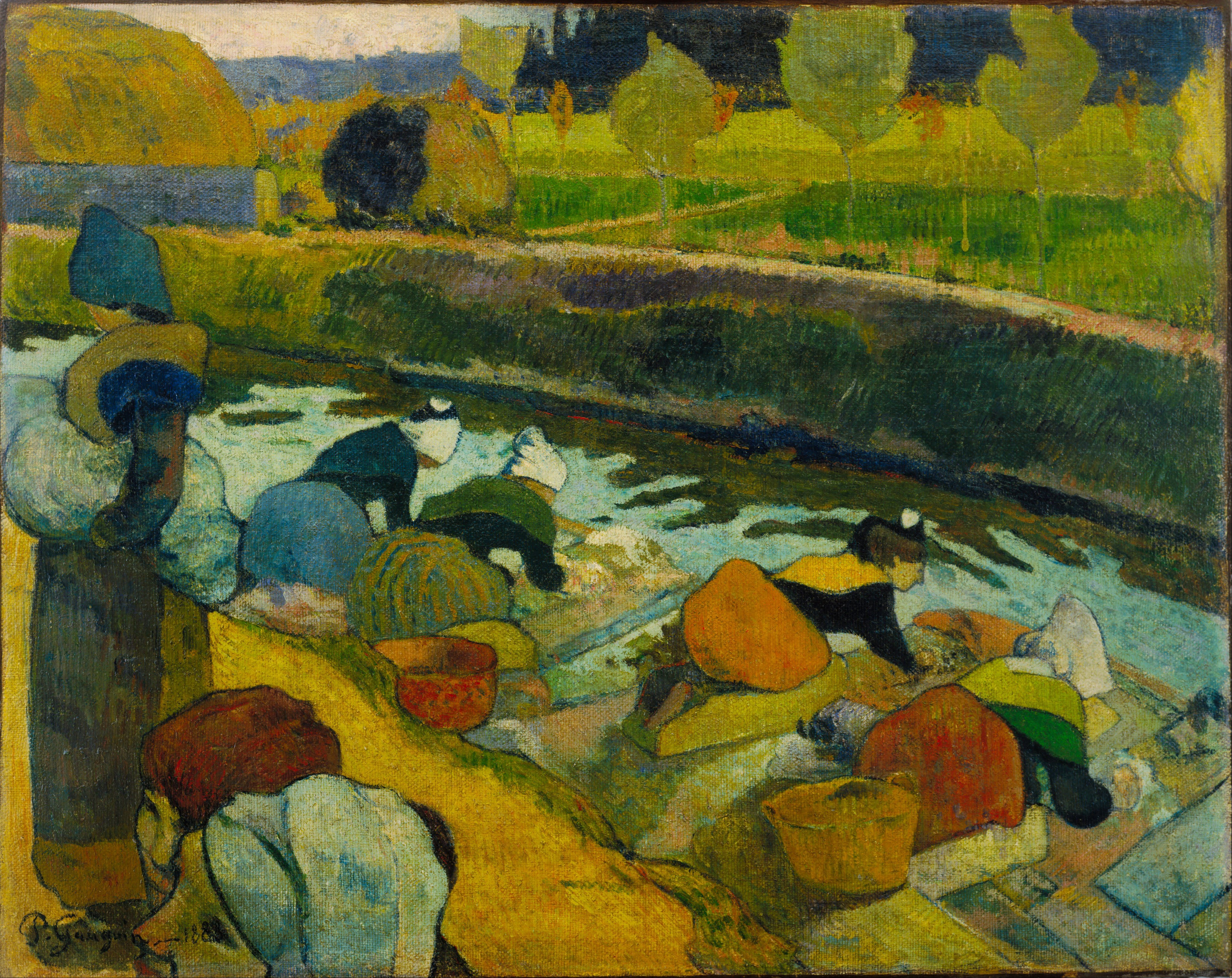 Paul gauguin early works google search art class for Abstract impressionism definition