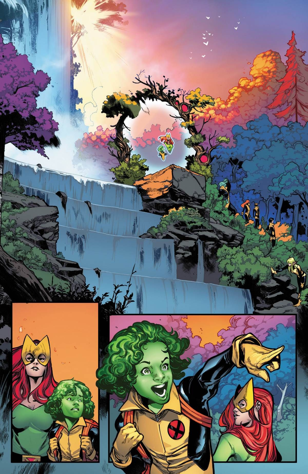 Full Issue Of House Of X Issue 1 Online In 2020 Marvel X Men Comics