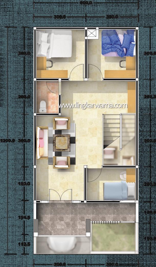 Pin Oleh Dicky Di Small House Plans Di 2020 Denah Rumah Rumah Desain Rumah