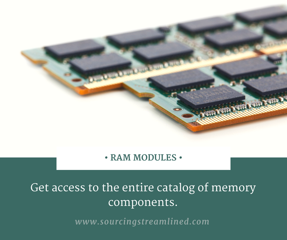 Go through the online catalog of RAM Modules  Access the