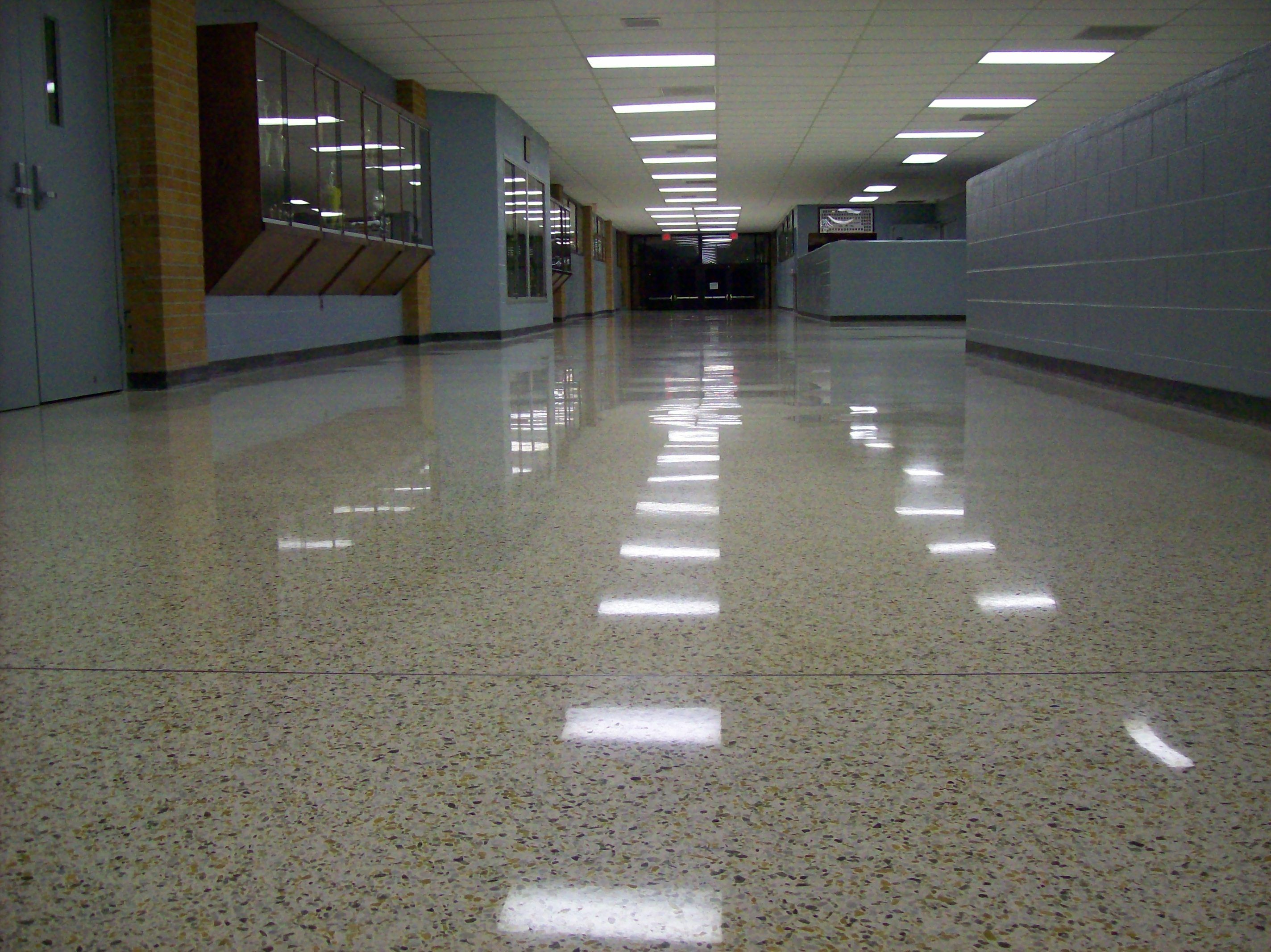 Terrazzo Floor Vitrified In Centerville Tennessee