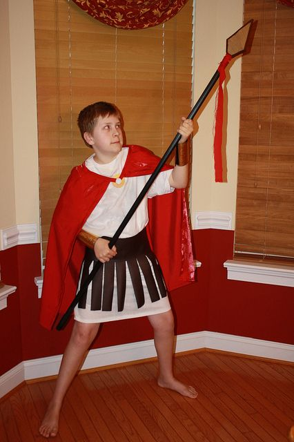 Rubie/'s Costume Co Roman Spear With Metllic Top Costume