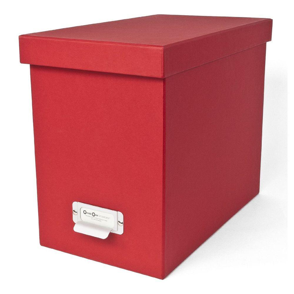 bigso box johan bo te archives 8 dossiers suspendus rouge. Black Bedroom Furniture Sets. Home Design Ideas
