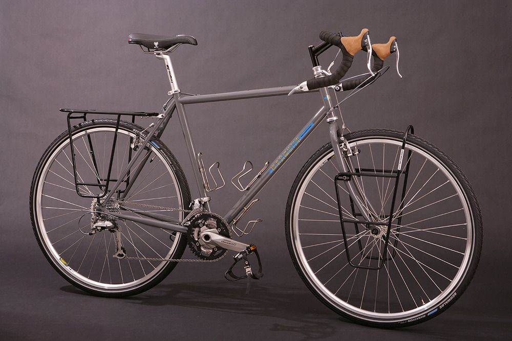 Bruce Gordon Cycles The Fully Loaded Blt Complete Touring Bike With Front And Rear Racks
