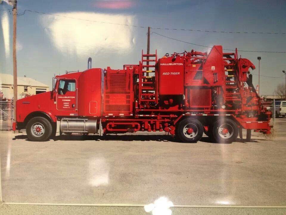 Halliburton Red Tiger | Workin workin | Oilfield life
