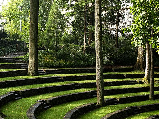 Swarthmore College Amphitheater - great place to exercise ...