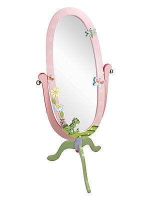 Teamson Magic Garden Standing Mirror - No Color - Size No Size