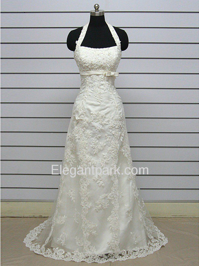 Fitted Jacket Wedding Dress