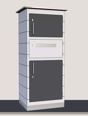 große Paketbox (avec images) Boite aux lettres