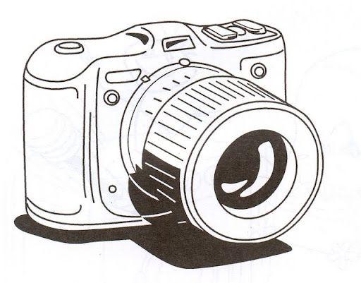 Camara De Fotos Dibujo Buscar Con Google Cámara De Fotos Dibujo Dibujo De Camara Camara Para Colorear