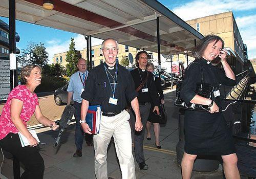 JUST PYE: Church of England General Synod approves female bi...