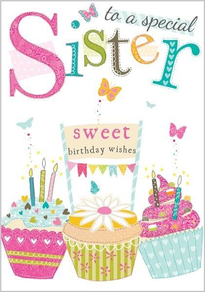 All wishes message wishes card Greeting card Birthday – Happy Birthday Card for My Sister