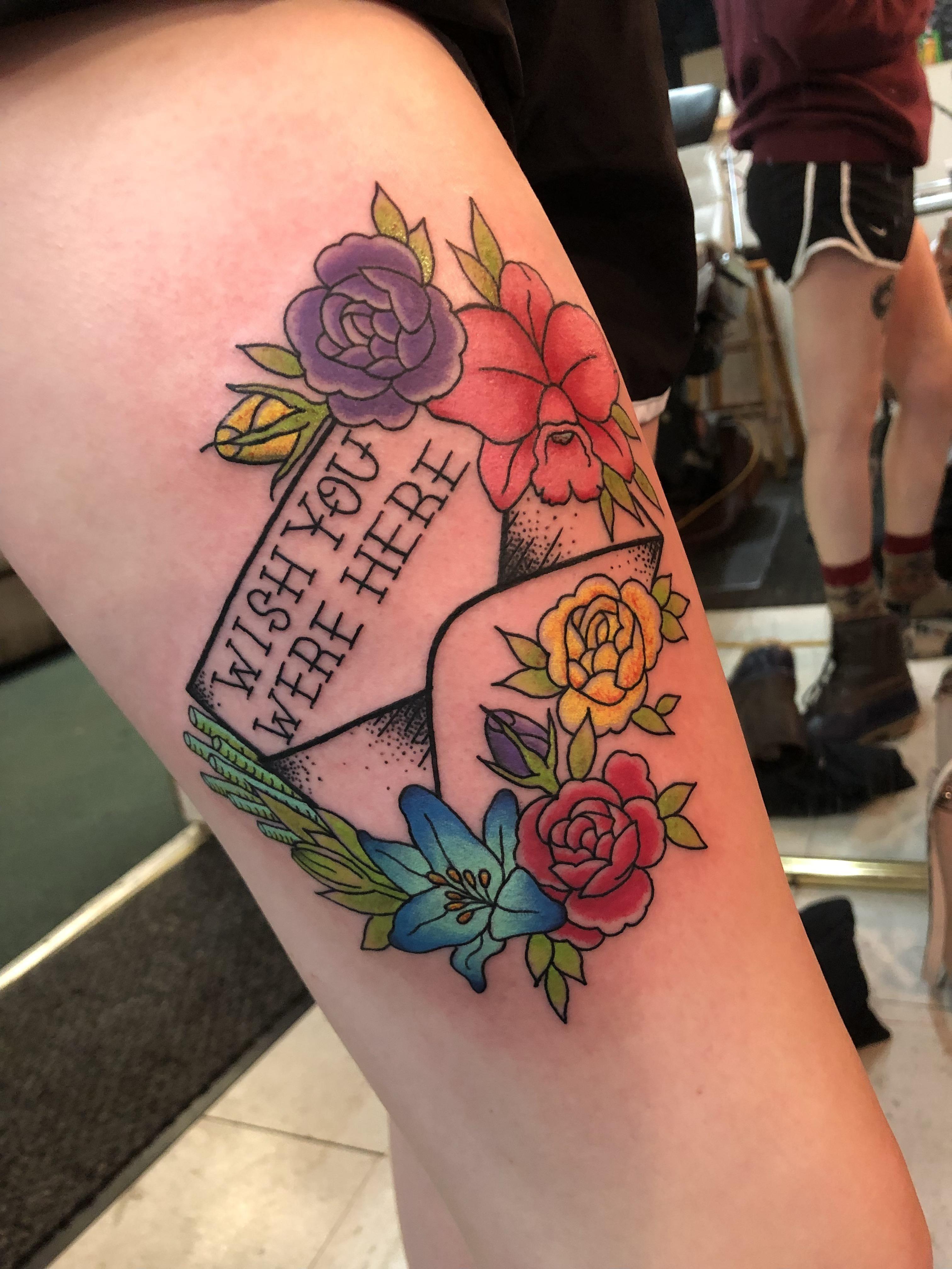 Pink Floyd Flowers Tattoo Topsimages