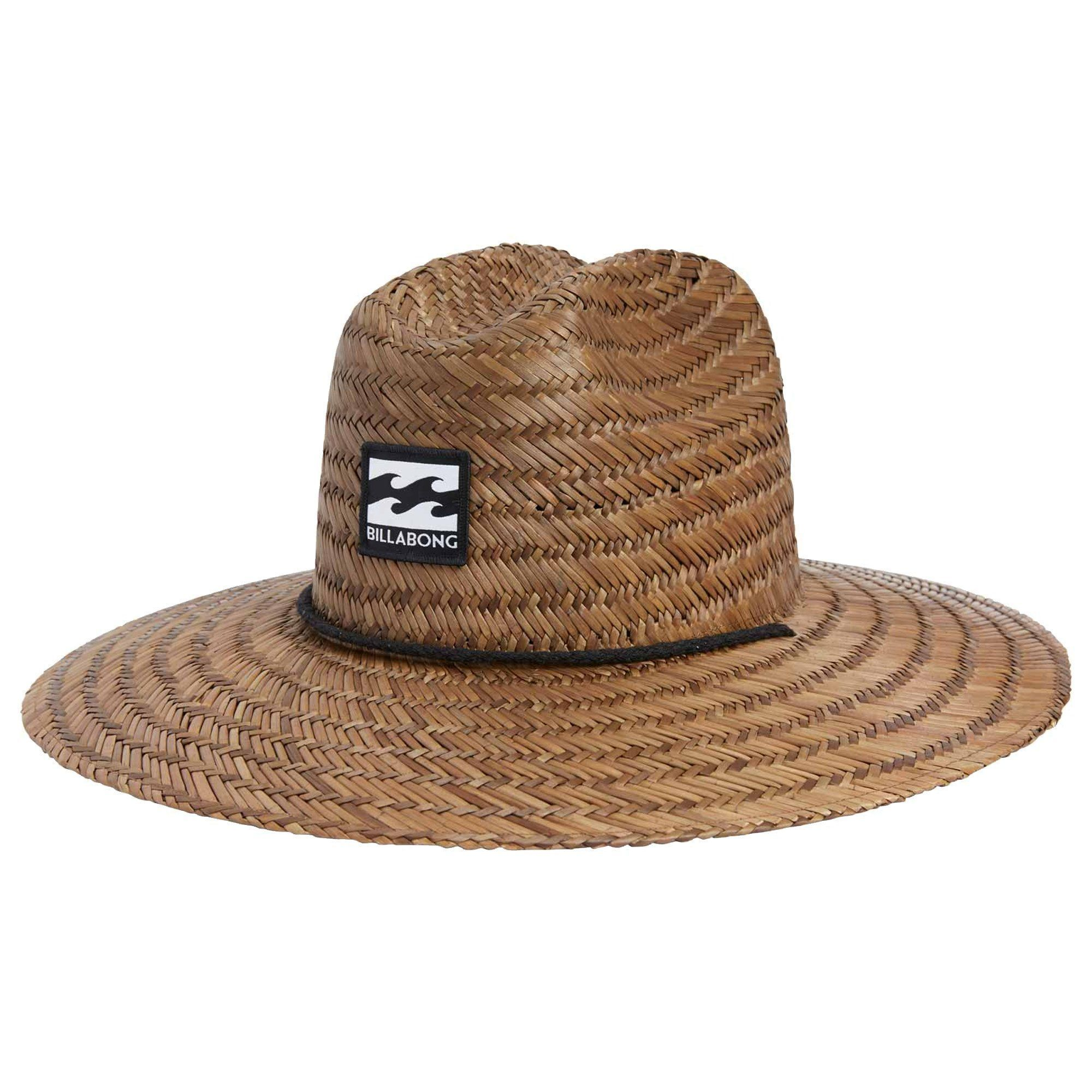 411d6b04d4c8c3 Get the most out of long beach days with this woven lifeguard hat. - Straw  lifeguard hat.