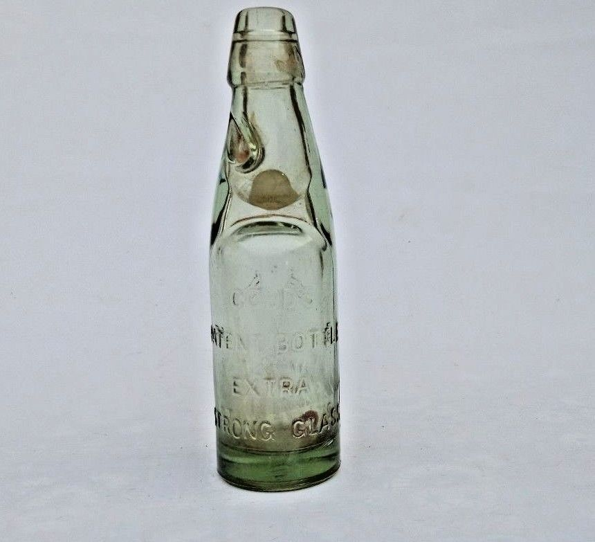 1930 S Old Patent Bottle Wazir Glass Works Codd Neck Marble Stopper Soda Bottle Wazirglassworks Vintage Soda Bottles Bottle Bottles Decoration