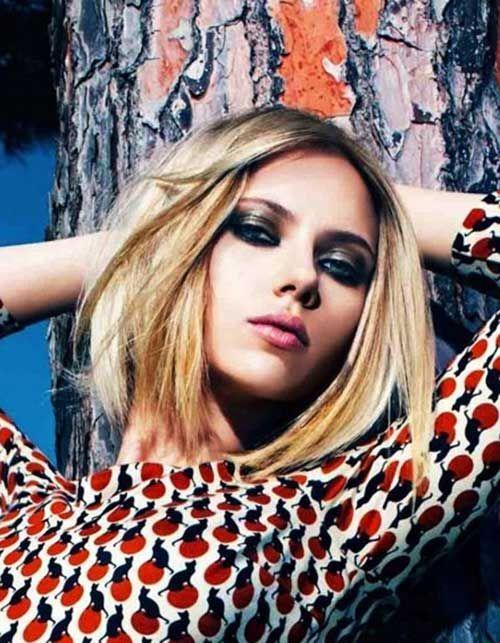Cool 15 Scarlett Johansson Bob Haircuts Bob Hairstyles 2015