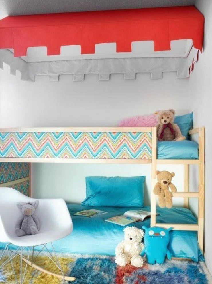 Lit Etage Kura Ikea Kids Room Kid Beds Kids Bedroom Bedroom